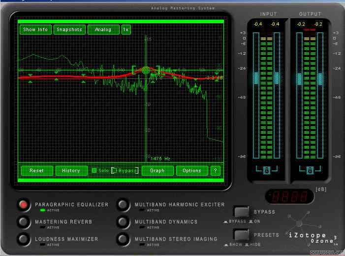 Windows. Софт. Скачать IZotope Ozone 3.15 (Winamp, KMPlayer, GOM Player)
